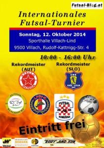 Flyer Futsal Turnier Villach
