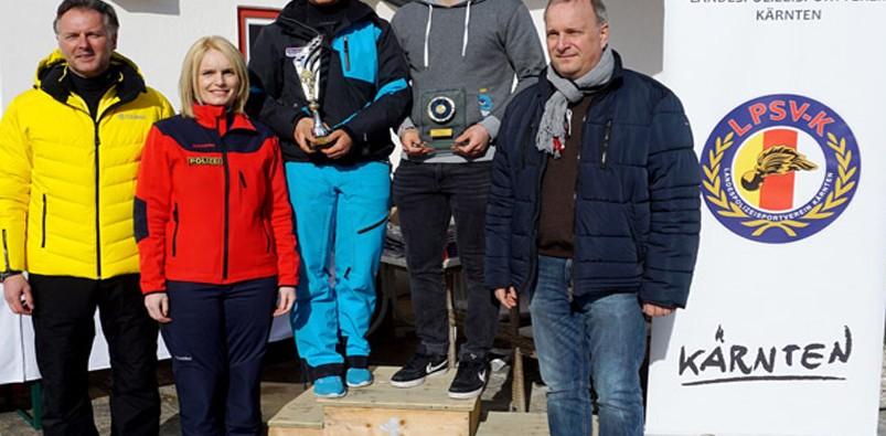 Landesmeisterin 2016 Alina Grischnig und Landesmeister 2016 Werner Franz