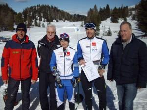 Landesmeisterin 2016 Donner Martina Mag. und Landesmeister 2016 Mesotitsch Martin