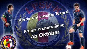Probetraining Futsal